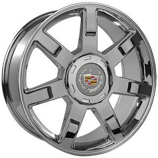 22 inch Cadillac 2010 Escalade Chrome Wheels Rims