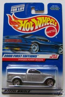 Hot Wheels 2000 Dodge Power Wagon FE #25/36 #085 MONMC