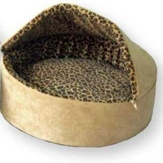 THERMO KITTY BED DELUXE HOODED HEATED CAT BED 20