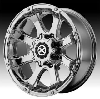 18 ATX Series Ledge Chrome Wheels Rims 8x6.5 8 Lug Chevy GM Dodge