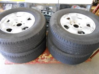 1999   2012 CHEVY SILVERADO GOODYEAR WHEELS RIMS 17 265/70/17