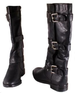 Baby Phat Walvia Womens Black Knee High Boots Medium Width BD113200