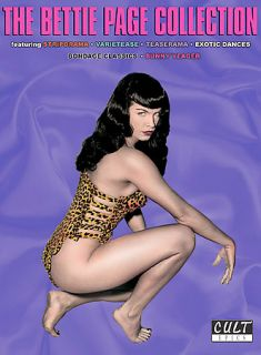 The Bettie Page Collection DVD, 2005, 3 Disc Set
