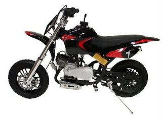 NEW BLACK MINI DIRT PIT POCKET BIKE 49CC 2 STROKE GAS MOTOR SCOOTER 12
