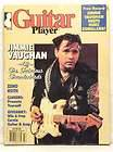 GUITAR PLAYER MAGAZINE JIMMIE VAUGHAN DUKE ROBILLARD RIK EMMETT ZENO