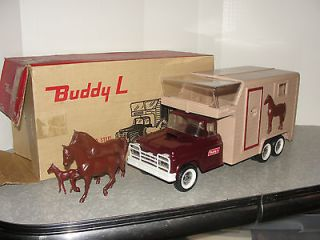 VIntage Buddy L Horse Van Truck in the Box ~ A MUST SEE
