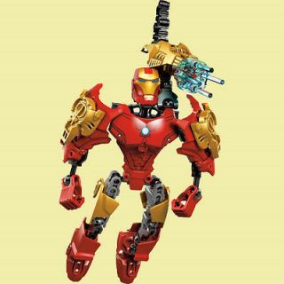 Creative Building Toy Iron Man Super Hero Avengers Figure in great