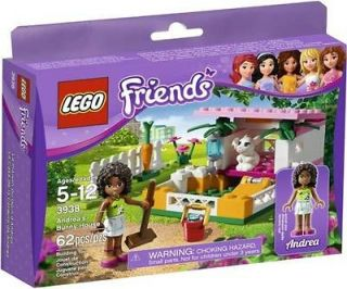 LEGO Friends 3938 Andreas Bunny House NEW IN BOX ~~