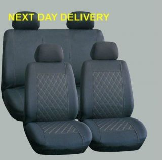 HONDA JAZZ LOGO PRELUDE UNIVERSAL CAR SEAT COVERS A123G