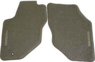 New Ford Taurus OEM Floor Mats Medium Graphite Gray Front 96 97 98 07