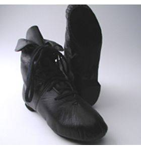 Capezio Jazz Boot Split Sole Dance Black White NIB CG03