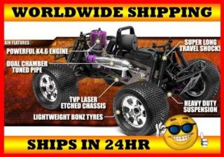 HPI Racing 1/8 Savage X SS K4.6 Nitro Monster Truck Kit 861 BRAND NEW