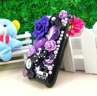 Pearl Hard Back Case cover for Apple iPhone 3G 3GS Dark Purple WC38