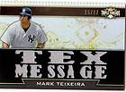 2011 Topps Triple Threads #TTR 32 Mark Teixeira Jersey RELIC /27