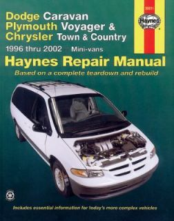 Dodge Caravan, Plymouth Voyager and Chrysler Town and Country 1996