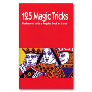 125 Card Magic Tricks Book   Royal Magic Best Seller WITH Bicycle Deck