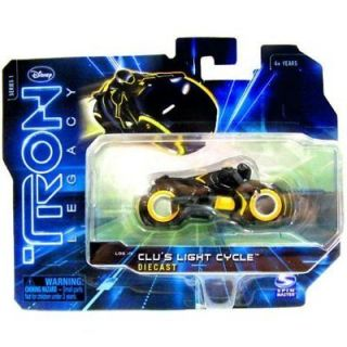 TRON LEGACY CLUS LIGHT CYCLE DIECAST DISNEY SERIES 1