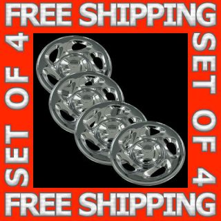 Toyota Tundra Sequoia 16 Chrome Wheel Skins Hubcaps Covers Hub Caps