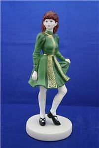 COALPORT IRISH DANCER FIGURINE   NEW FOR 2008
