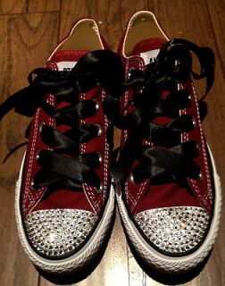Customized womens converse all star 100% SWAROVSKI CRYSTALS BRAND