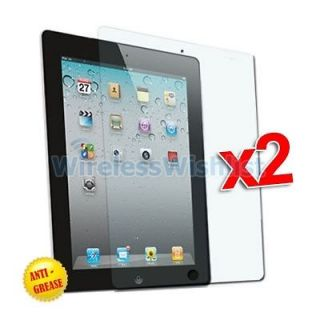 2X Anti Glare Matte LCD Screen Protector Covers for Apple iPad 2 WIFI
