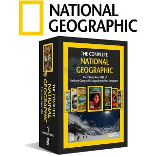 THE COMPLETE NATIONAL GEOGRAPHIC MAGAZINE DIGITAL DVD COLLECTION NEW