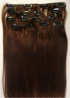 15 22 REMY HUMAN HAIR CLIP IN EXTENSIONS,7PC​S,FREE&FAST SHIPPING