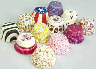 TEATIME Muffin Cup Cake Cupcake Paper Baking Cases Liners Wholesale