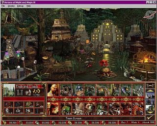Heroes of Might and Magic III The Restoration of Erathia PC, 1999