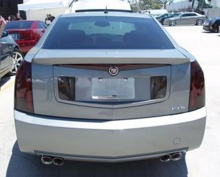 03 07 CADILLAC CTS SMOKE TAIL LIGHT PRECUT TINT COVER SMOKED OVERLAYS