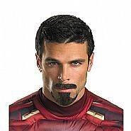 Iron Man Tony Stark Facial Hair Costume Prop Accessory