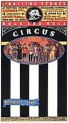 The Rolling Stones; Rock and Roll Circus VHS MINT OOP John Lennon Yoko