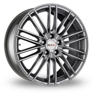 16 MAK Rapide Alloy Wheels & Continental Tyres   TOYOTA PRIUS (99