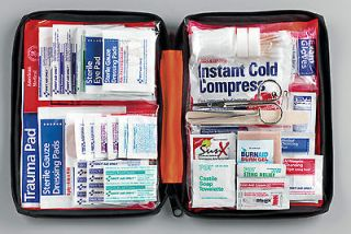 Large First Aid Kit for Outdoor / Sports / Camping   First Aid Guide