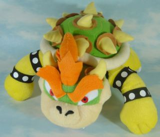 new super mario bros bowser 10 soft plush toy doll
