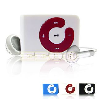 USB Flash Disk 4GB Mini Clip Gift  Player Micro SD TF Card Red