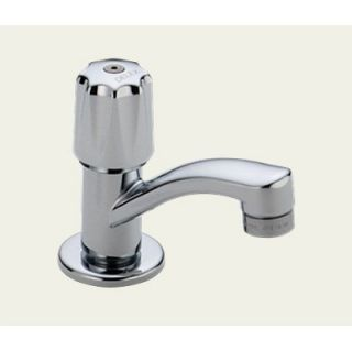 Delta Classic Single Hole Sink Faucet with Single Knob Handle   2302