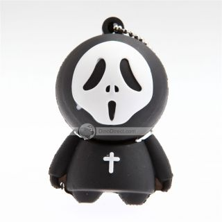 Wholesale OuSang 8GB Scream Cartoon USB Flash Memory Drive