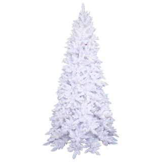 Foot White Ashley Spruce Pre Lit Christmas Tree with 250 Clear