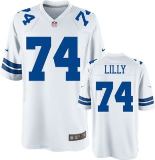 Bob Lilly Throwback Player Legend Jersey White Game Replica #74 Nike