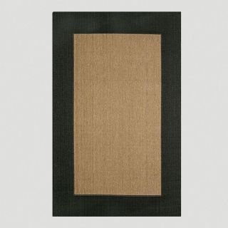Black Border Indoor Outdoor Rug  World Market