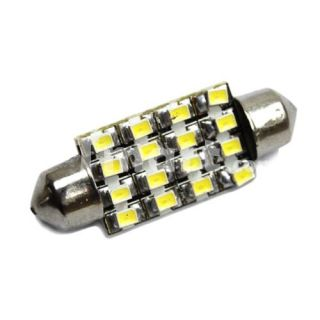 Interior 39mm 16 SMD LED Car Dome Light Bulbs White 12V   Tmart