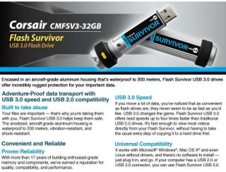 Buy the Corsair Flash Survivor USB 3.0 Flash Drive .ca