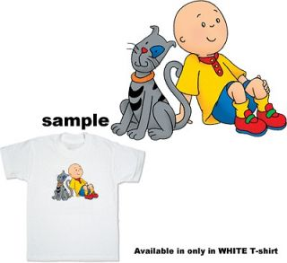 Caillou & Gilbert Child kids boy girl T Shirt