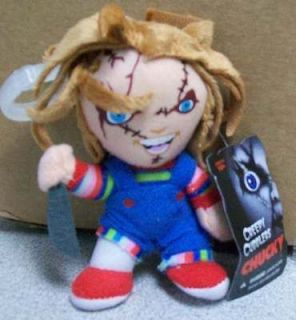 Creepy Cuddlers CHUCKY DOLL from CHILDS PLAY Clip On Plush Doll by
