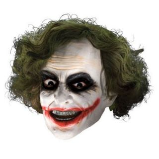 Batman Dark Knight Adult Joker 3/4 Vinyl Mask