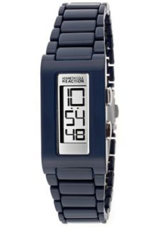 Kenneth Cole Reaction RK4115 Watches,Womens Silver Mirrored Digital