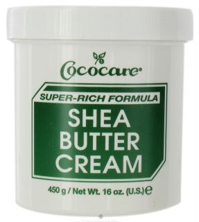 Buy Cococare   Shea Butter Cream Super Rich Formula   16 oz. at
