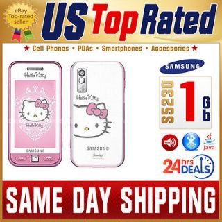 NEW SAMSUNG S5230 HELLO KITTY PINK TOUCHSCREEN GSM QUADBAND JAVA PHONE