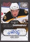 JAMIE ARNIEL 2011 12 UPPER DECK BLACK DIAMONDS GEMOGRAPHY AUTO CARD